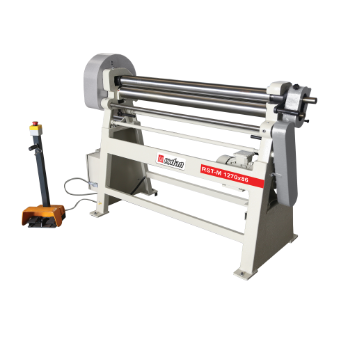 RST-M + Motorized 3 Roll 3-4 Roll Plate Rolling Machines