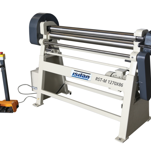 RST-M + Motorized 3 Roll Plate Rolling Machines