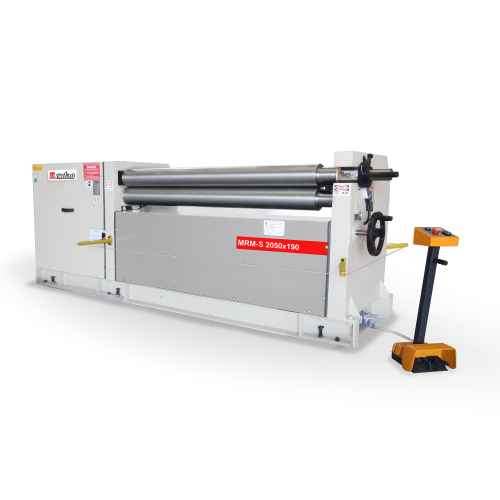 MRM-S + Motorized 3 Roll 3-4 Roll Plate Rolling Machines
