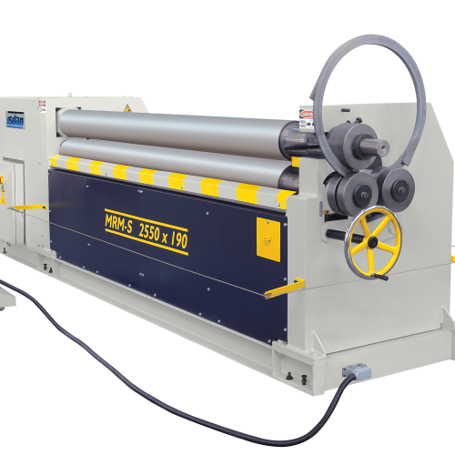 MRM-S + Motorized 3 Roll Plate Rolling Machines