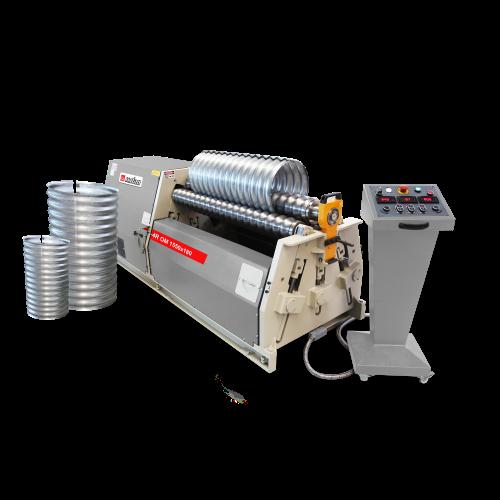 4R OM + Hydraulic 4 Roll 3-4 Roll Plate Rolling Machines