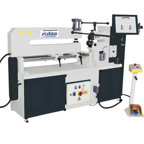 IDK-3,5 + Pneumatic Circular Cutting&Flanging Machines