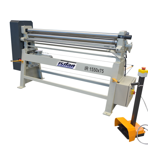 IR  + Motorized 3 Roll Plate Rolling Machines