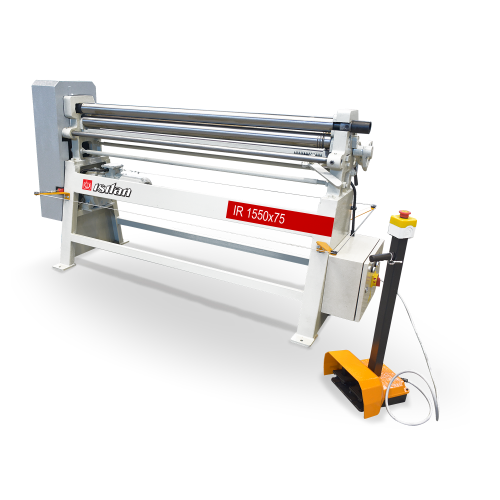 IR  + Motorized 3 Roll 3-4 Roll Plate Rolling Machines