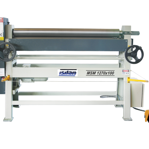 MSM + Motorized 3 Roll Plate Rolling Machines