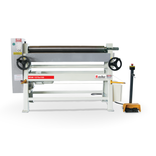MSM + Motorized 3 Roll 3-4 Roll Plate Rolling Machines