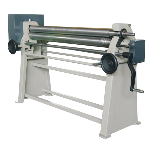 MS  + Manual 3 Roll Plate Rolling Machines