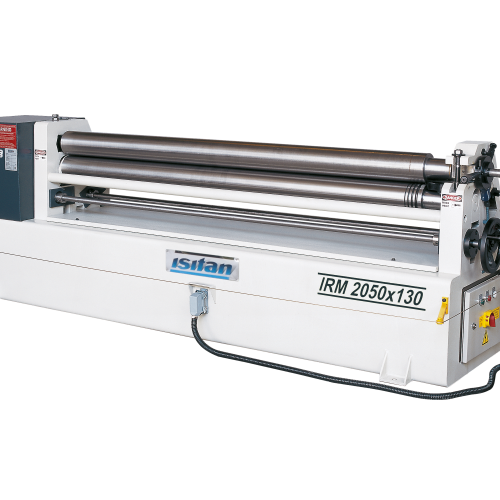 IRM + Motorized 3 Roll Plate Rolling Machines