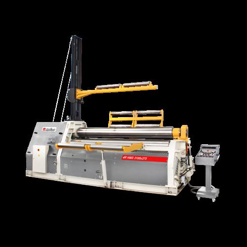 4R HMS + Hydraulic 4 Roll 3-4 Roll Plate Rolling Machines