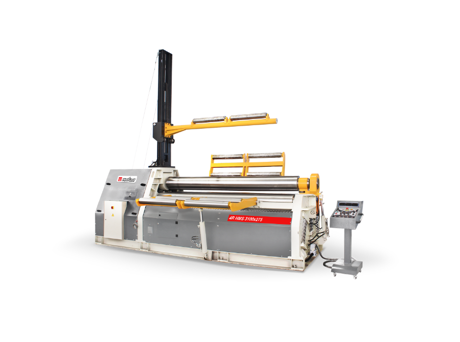 3-4 Roll Plate Rolling Machines