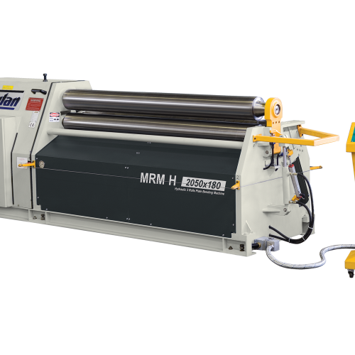 MRM-H + Hydraulic 3 Roll Plate Rolling Machines