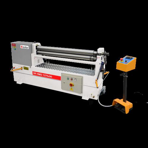 3R HMD + Hydraulic 3 Roll 3-4 Roll Plate Rolling Machines