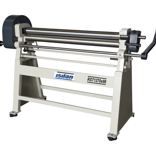 RST  + Manual 3 Roll Plate Rolling Machines