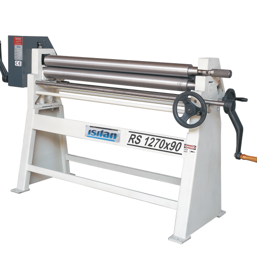 RS + Manual 3 Roll Plate Rolling Machines
