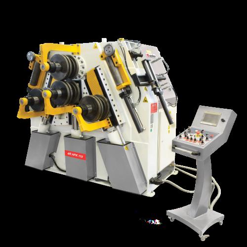4R HPK + Hidrolik 4 Toplu Profil ve Boru Bükme/Kıvırma Makinası