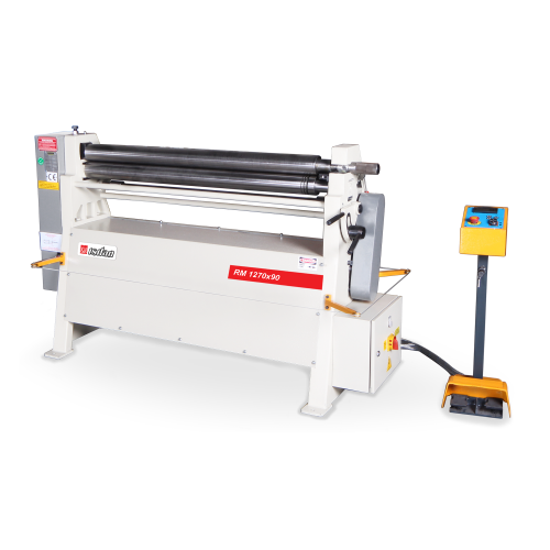 RM + Motorized 3 Roll 3-4 Roll Plate Rolling Machines